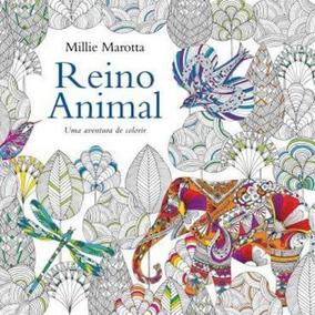 Livro De Colorir-reino Animal Editora Sextante