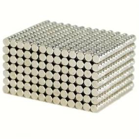 5780009ed79 Ímã Neodímio N35 Disco 5x2mm Força Aprox. 390g 20 Unidades