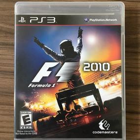 Jogo Formula 1 2010 - Ps3 - Mídia Física - Seminovo