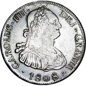 Moneda Doblon De Plata Espa Ol De 1808 - Monedas en Mercado Libre ... 06d64370e24
