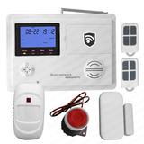Alarma Hibrida Dual Gsm Pstn Seguridad Casa 2s Sk800-ing