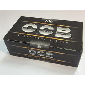 Tubos Con Filtro Ocb Black Para Armar 100u-local Once