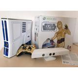 Xbox 360 Edición Limitada Star Wars De Colección