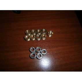 Acople Rosca Metal Doble Rosca Paral Y Porta Micrófono