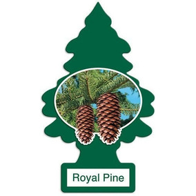 Aromatizante Little Trees Royal Pine 30 Unidades