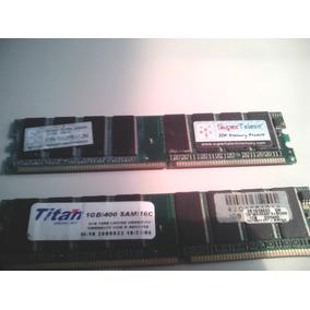 Memoria Ram 1gb/ddr 400 Titan