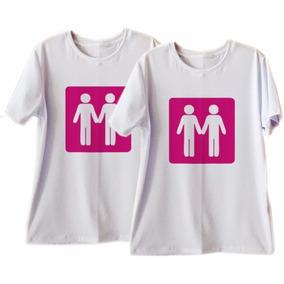 74f46acedfaa0 Camisetas T Shirt Casal Namorados Lgbt Gay 2 Peças