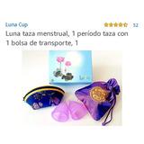 Lunacup Tazas Menstual Pauete De 2 Chica, Grande Y Bolsa