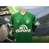 Camisa Da Chapecoense Usada No Brasileiro 2018.