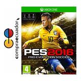 Pes 2016 Xbox One Pro Evolution Soccer 2016 Pes16 Disco Fisi