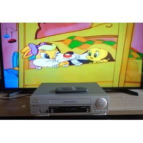 Video Cassete Jvc Hr-j486m + Controle - Funcionando