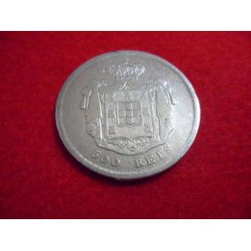 Portugal - Moeda De 500 Réis De 1855 Prata Mbc