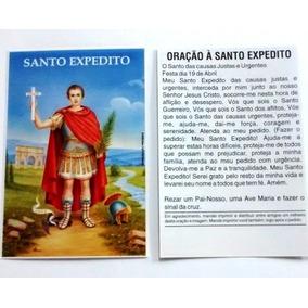 Santinho Santo Expedito Oração De Promessa Milheiro Panfleto