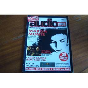Revista Audio Plus 4 / Marisa Monte / Wynton Marsalis /tina