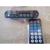 Modulo Reproductor Audio Con Bluetooth, Usb, Sd, Fm Y Aux