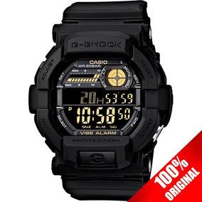 Reloj Casio G Shock Gd 350 Negro Alarma Vibratoria Led