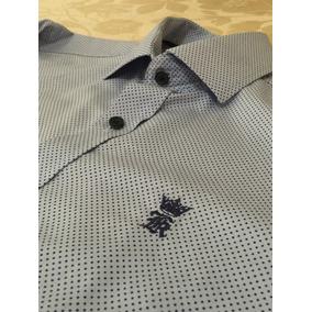 Camisa Social Sergio K Azul - Tam P