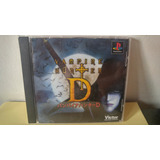 Ps1 Vampire Hunter D Playstation Japones Import Anime Game