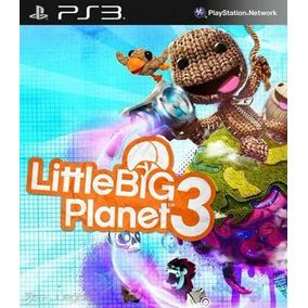 Littlebigplanet 3 Psn Ps3 Little Big Planet Envio Na Hora