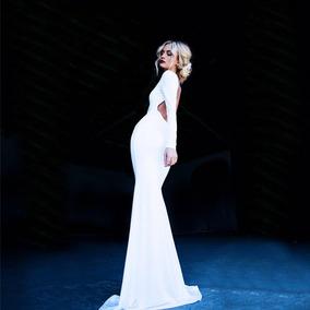 Vestidos Largos De Noche Elegantes Temporada Escote Espalda