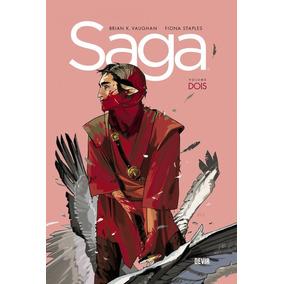 Saga Volume 2 Capa Dura Novo Hq Frete 14,00