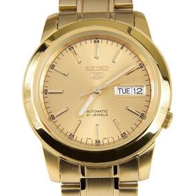 Relógio Seiko Automátic Masculino Folhado Snke56k1