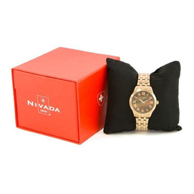 Reloj Nivada Dama Np16173ldocr Gold