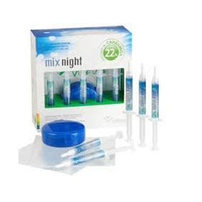 Kit Clareador Dentkial Mix Night 16% + 1 Par Moldeira