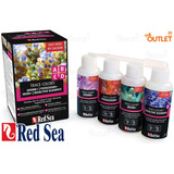 Red Sea Trace-colors Paquete Con 4 Abcd Suplemento Corales