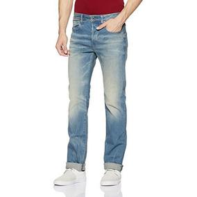39b4d5d725f G-star Raw Pantalon De Corte Recto 3301 En Cyclo Stretch Den