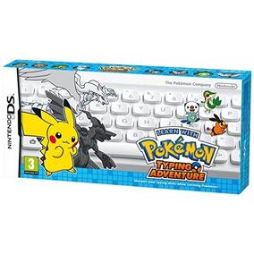 Jogo Pokemon Learn With Typing Adaventure Com Teclado Ds