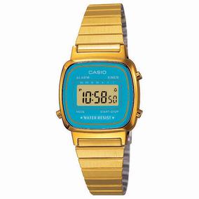 5ab4d254227 Relogio Feminino Dourado Digital - Relógio Casio Feminino em São ...