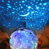 Proyector Estrellas, Planetas Giratorio - Lampara Estrellas