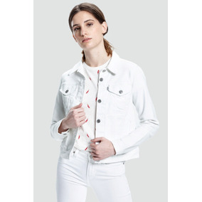 Campera Levi´s® Dama Original Trucker White
