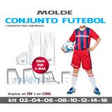 cbdaebd24b Sublimação Uniformes Futebol - Camisetas E Calções Infantis