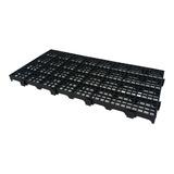 Piso Estrado Plástico Modular 50x25x2,5 Cm - Preto