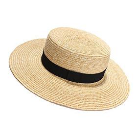 c8d28bfdf510d Sombrero De Paja Hecho A Mano De Panama Sun Hat Boater Para