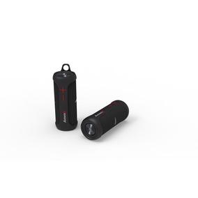 Caixa Som Portátil Amvox Duo X Black Bluetooth Prova D