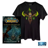Camiseta World Of Warcraft Illidan no Mercado Livre Brasil d72d101f5e1b6