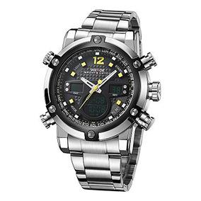 Reloj Weide Digital Watches For Men Water Resistant Quartz M