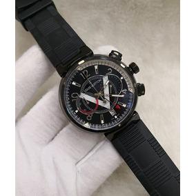 dcd0a67a8f0 Relógio Louis Vuitton Fundo Prata  - Relógios no Mercado Livre Brasil