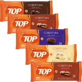 5kg Total Barras Chocolate Cob P/ Ovos De Páscoa Top Harald
