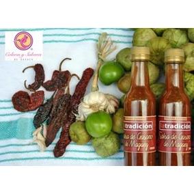 Salsas Caseras Oaxaqueñas De Chapulin Y Gusano De Maguey