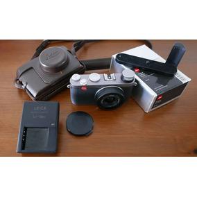 Câmera Leica X1 Silver12mp Elmarit 24mm F/2 Estojo E Grip
