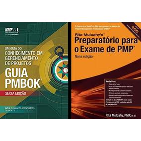 Guia Pmbok 6ª Edição + Rita Mulcahy - Preparatório 9ª Edição