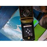 Motorola V8 Rarz.libre. Dorado Con Negro. $2199.