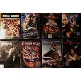 Wwe Dvd Coleccion 17 Videos Originales + Remera Oferta!