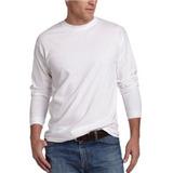 Camisetas Manga Larga 100% Algodon Cuello Redondo