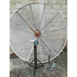 Antena Parabólica 2.30m Con Base