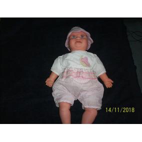 Muñeco Ríe Llora Duerme Haschel Toy 52 Cm Usado
